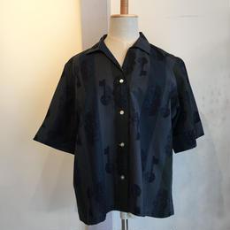 vintage 1960年代鍵柄半袖シャツ