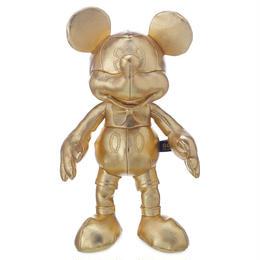 ミッキーマウス90周年 ゴールデン プラッシュドール(S) Mickey The True Original Plush - Gold Collection - Small
