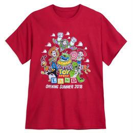 トイストーリー  『TOY STORY LAND』限定  メンズ Tシャツ