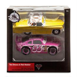 ディズニー・ピクサー カーズ  クロスロード CARS3 1/43   2PC  Tex Dinoco and Reb Meeker