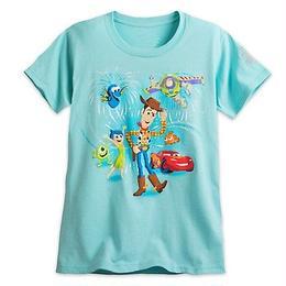 ディズニーストア Disney Store 30周年記念 ピクサー Tシャツ【LADIES】