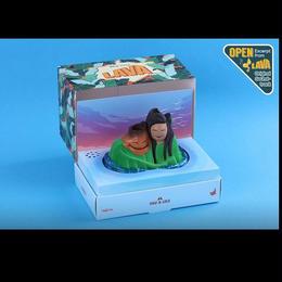 """ピクサー『南の島のラブソング』ホットトイズ コスベイビー Hot Toys Cosbaby Pixar """"LAVA"""" UKU AND LELE"""
