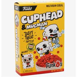 ファンコ カップヘッド  ファンコ ポケット ポップ 入り シリアル  FUNKO CUPHEAD FUNKO'S CEREAL WITH POCKET POP! INSIDE
