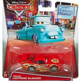 ディズニー・ピクサー カーズ トゥーン 『メーターの東京レース』 マテル キャラクターカー Dragon Lightning McQueen【WALMART限定】