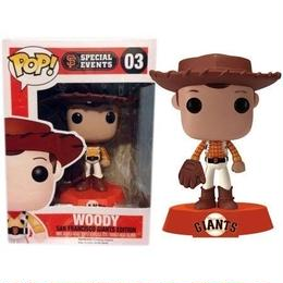 ファンコ ポップ 2014 MLB San Francisco Giants Pixar Day Woody FUNKO POP!