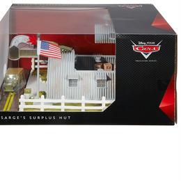 ディズニー・ピクサー カーズ  マテル キャラクターカー プレシジョン・シリーズ 「サージのサープラス・ハット」プレイセット  Sarge's Surplus Hut