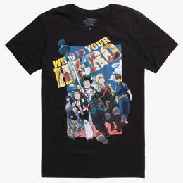 『僕のヒーローアカデミア』MY HERO ACADEMIA  Tシャツ TWO HEROES MOVIE