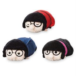 インクレディブル・ファミリー エドナ・モード  ツムツムぬいぐるみ(S)3個セット Edna Mode ''Tsum Tsum'' Box Set