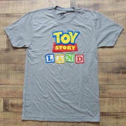 トイストーリー  『TOY STORY LAND』限定  メンズ Tシャツ  【LOGO】