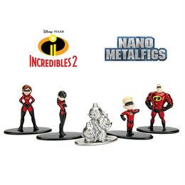 インクレディブル・ファミリー ナノ・メタルフィグス5体セット  Jada Toys Nano Metalfigs  The Incredible 2