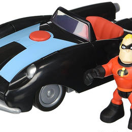 インクレディブル・ファミリー インクレディブルカー&Mr.インクレディブル プレイセット  Incredibile & Mr.Incredible Vehicle Playset