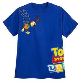トイストーリー  『TOY STORY LAND』限定  メンズ Tシャツ  【Slinky Dog】
