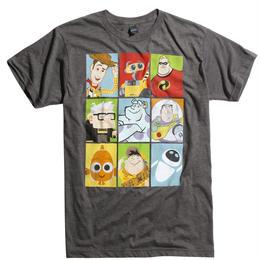 ピクサー ラインアップ キャラクター  Tシャツ【MENS】