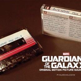 『ガーディアンズ・オブ・ギャラクシー』Awesome Mix vol1サントラ カセットテープ  のコピー
