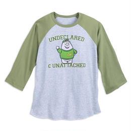 モンスターズ・ユニバーシティ スクイシー メンズ・ラグランTシャツ  Monsters University Squishy Raglan Long Sleeve T-Shirt