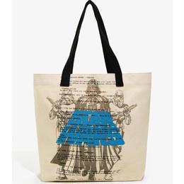 スターウォーズ ラウンジフライ キャンバス製 トードバッグ 【Darth Vader & Stormtroopers 】Loungefly Star Wars  Canvas Tote Bag