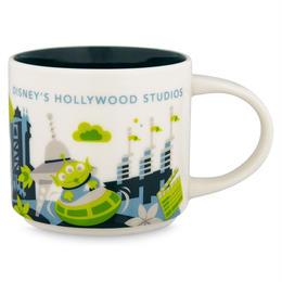 トイストーリー  Disney's Hollywood Studios スターバックス限定 セラミック製マグカップ