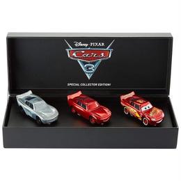 ディズニー・ピクサー カーズ  クロスロード マテル キャラクターカー コミコン限定 The Making of Lightning McQueen 3-Pack