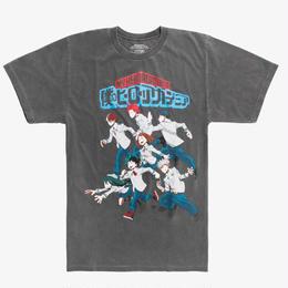 『僕のヒーローアカデミア』MY HERO ACADEMIA  Tシャツ STUDENT HEROES GROUP