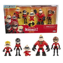 インクレディブル・ファミリー ファミリーパック Jakks Pacific The Incredibles 2  Family Pack