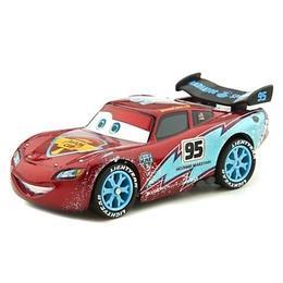 ディズニー・ピクサー カーズ  Disney Store 1/43 ダイキャストカー Ice Racers  Lightning McQueen【CHASE】