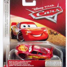 ディズニー・ピクサー カーズ  2018 マテル キャラクターカー メタリック・カーズ3 マックイーン Scavenger Hunt METALLIC CARS3 LIGHTNING McQUEEN