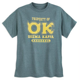 モンスターズ・ユニバーシティ   「OK」Tシャツ 【MENS】