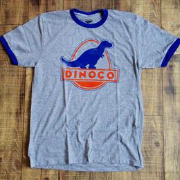 『カーズ 』 ショップ限定 メンズ リンガーTシャツ Disney Pixar Cars Dinoco Ringer T-Shirt