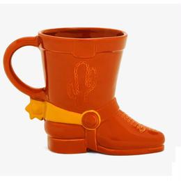 トイストーリー  ウッディー ブーツ セラミック製 ジャンボ マグカップ