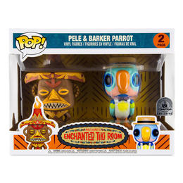 Disney Land限定  ファンコ ポップ 『魅惑のチキルーム』2体セット Funko Pop! The Enchanted Tiki Room Pele and Barker