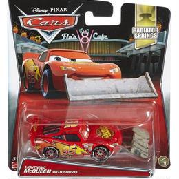 ディズニー・ピクサー カーズ  2017 マテル キャラクターカー Lightning McQueen with Shovel