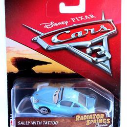 ディズニー・ピクサー カーズ  マテル キャラクターカー Radiator Springs Classic Sally with Tatoo