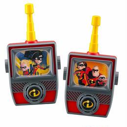 インクレディブル・ファミリー トランシーバーセット Incredibles 2 Walkie Talkies