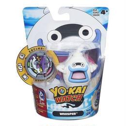アメリカ版   妖怪ウォッチ ハズブロ社製  フィギュア  ウィスパー  Yo-kai Watch Medal Moments