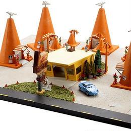カーズ  マテル キャラクターカー プレシジョン・シリーズ 「サリーのコージー・コーナー・モーテル」プレイセット  Sally's Cozy Cone Motel  Playset