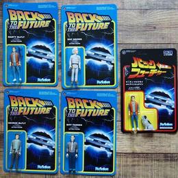 ファンコ  リ・アクション フィギュア バック・トゥ・ザ・フューチャー 5種セット Funko Re-Action Back To The Future