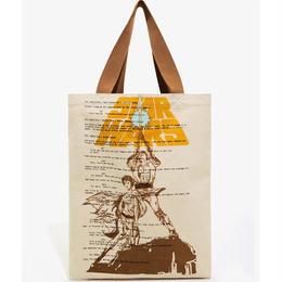 スターウォーズ ラウンジフライ キャンバス製 トードバッグ 【Luke & Leia】Loungefly Star Wars  Canvas Tote Bag