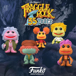 ファンコ  ポップ   『フラグルロック』 35周年記念セット  Funko Pop! Flocked Fraggle Rock 5-pack