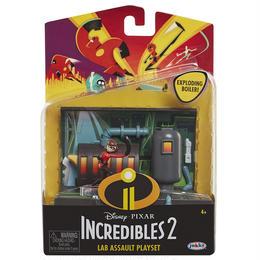 インクレディブル・ファミリー  ラボ・アサルト プレイセット Jakks Pacific The Incredibles 2  Lab Assault Playset