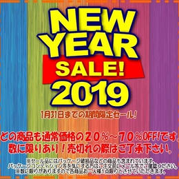 ★☆ 2019 NEW YEAR SALE! ★☆
