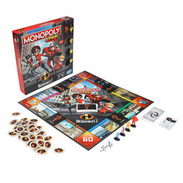 インクレディブル・ファミリー モノポリー・ジュニア ゲーム Incredibles 2 Monopoly Junior Game