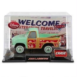 ディズニー・ピクサー カーズ2  Disney Store 1/43 ダイキャストカー ジョン・ラセタイヤ【Chase】John Lassetire