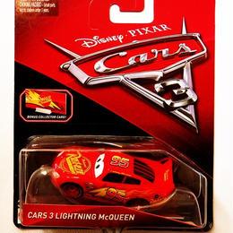 ディズニー・ピクサー カーズ  クロスロード マテル キャラクターカー CARS3 LIGHTNING McQUEEN【コレクターカード付】