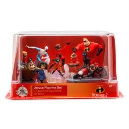 インクレディブル・ファミリー Disney Store DX フィギュアセット The Incredibles 2   Deluxe Figure Set