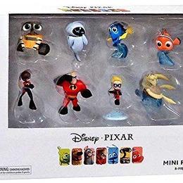 ピクサー ミニフィギュア8種セット Disney / Pixar 8-Piece Mini Figure Gift Set