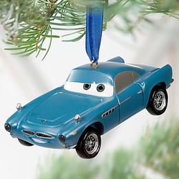 2011年 カーズ2  フィン・マクミサイル  レジン製 ライトアップ オーナメント Cars 2 Finn McMissile Ornament