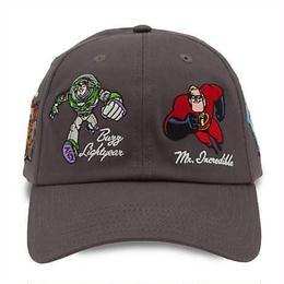 アメリカ Disney Parks限定 ピクサー 大人用 ベースボール・キャップ PIXAR Baseball Cap 帽子