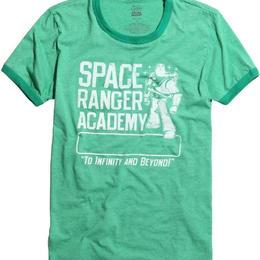 トイストーリー    TOY STORY メンズTシャツ  SPACE RANGER ACADEMY