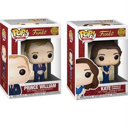 ファンコ ポップ 英国ロイヤルファミリー ウィリアム王子 & キャサリン夫人 FUNKO POP! Royal Family Prince William  & Kate