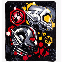 マーベル『アントマン&ワスプ』シルクタッチ フリース ブランケット  MARVEL ANT-MAN AND THE WASP SILK TOUCH THROW BLANKET